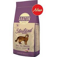 Сухой корм для стерилизованных кошек Araton Adult After Sterilization Chicken
