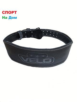 Атлетический пояс Velo для тяжелой атлетики 130 см, Размер XXXL, фото 2