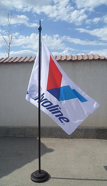 Печать фирменных флагов
