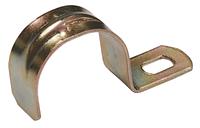 Скоба метал. 1-лапковая d 25-26мм (для металорукава d-20,22)