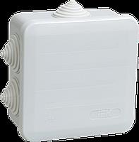 КМ41255 распаячн. для о/п 100х100х50 IP44 (6 гермовводов, с крышкой) IEK (48) NEW