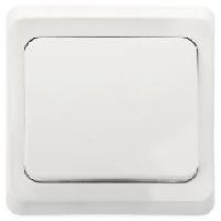S290 Выкл. 1-кл. с/у Белый ЭТЮД ВС10-001В (120)