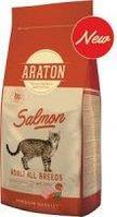 Сухой корм для кошек Araton Adult Salmon с лососем