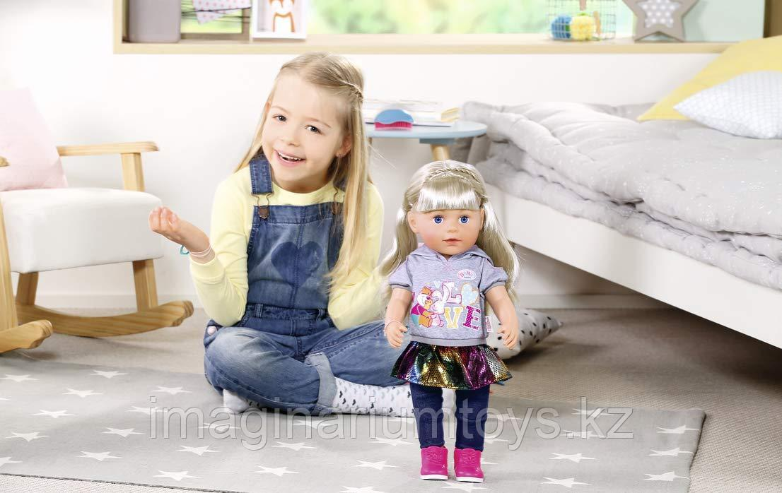 Кукла Baby Born Беби Борн сестричка 43 см - фото 7