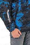 Ветровка «Бриз» (таслан, синий принт) PAYER, фото 3