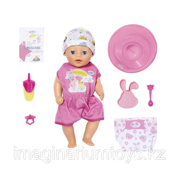 Бэби Борн кукла интерактивная 36 см Baby Born