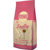Сухой корм для собак мелких и средних пород Araton Adult Poultry