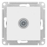 S401 ТV роз. оконечная с/у б/рамки ATLAS белый ATN191 NEW (10)