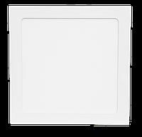LED СПОТ KVADRO/R встраиваемый 18W 1440Lm 220x220x8,5 6500K IP20 MEGALIGHT (30)
