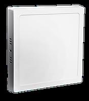 LED СПОТ KVADRO/S накладной 18W 1440Lm 210x210x30 6500K IP20 MEGALIGHT (20)