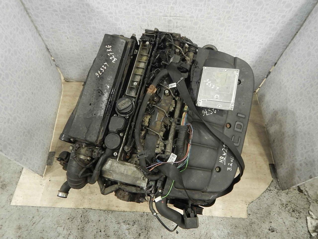 Двигатель (ДВС) Mercedes W211 (E Class)  648.961
