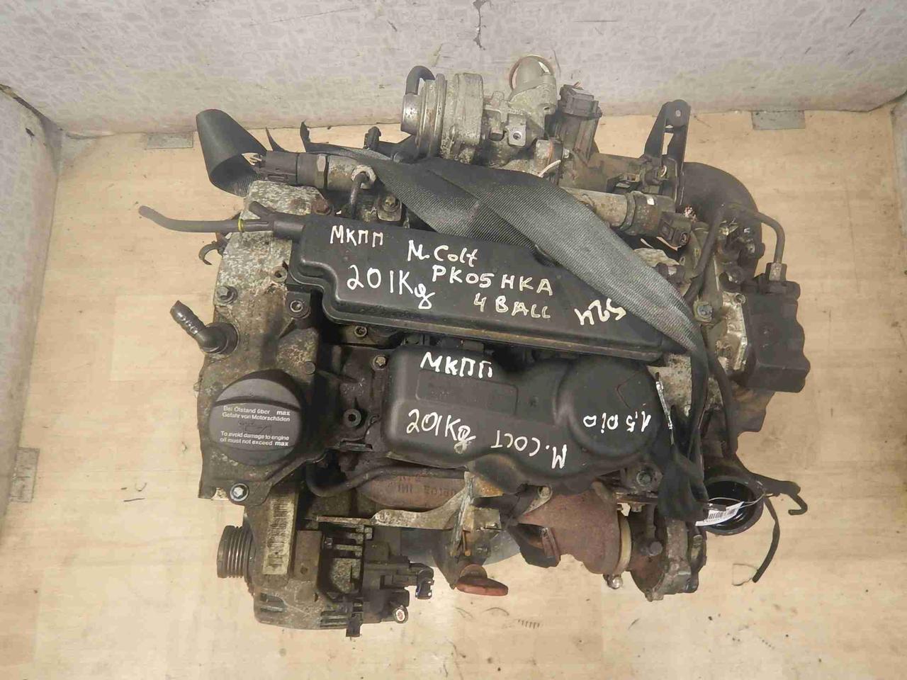 Двигатель (ДВС) Mitsubishi Colt 6  639.939