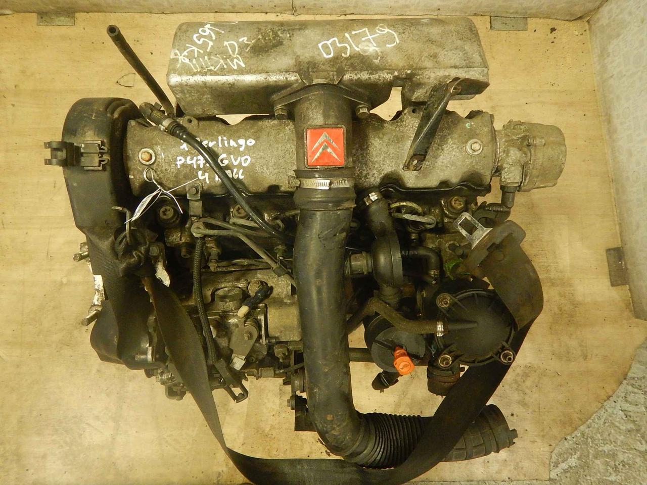Двигатель (ДВС) Citroen Berlingo  A9A (XUD7)