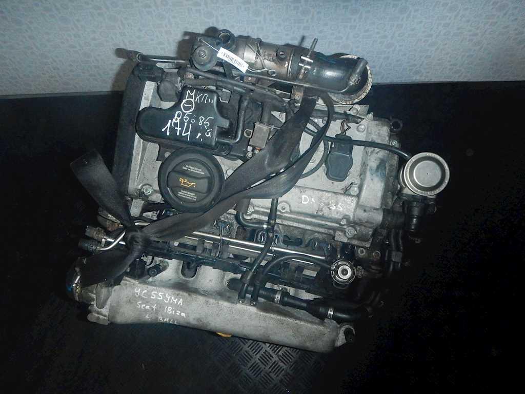 Двигатель (ДВС) Seat Ibiza 3  BBU