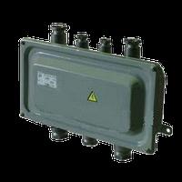 Коробка У-614 А с пластмас.сальниками IP54 (2)