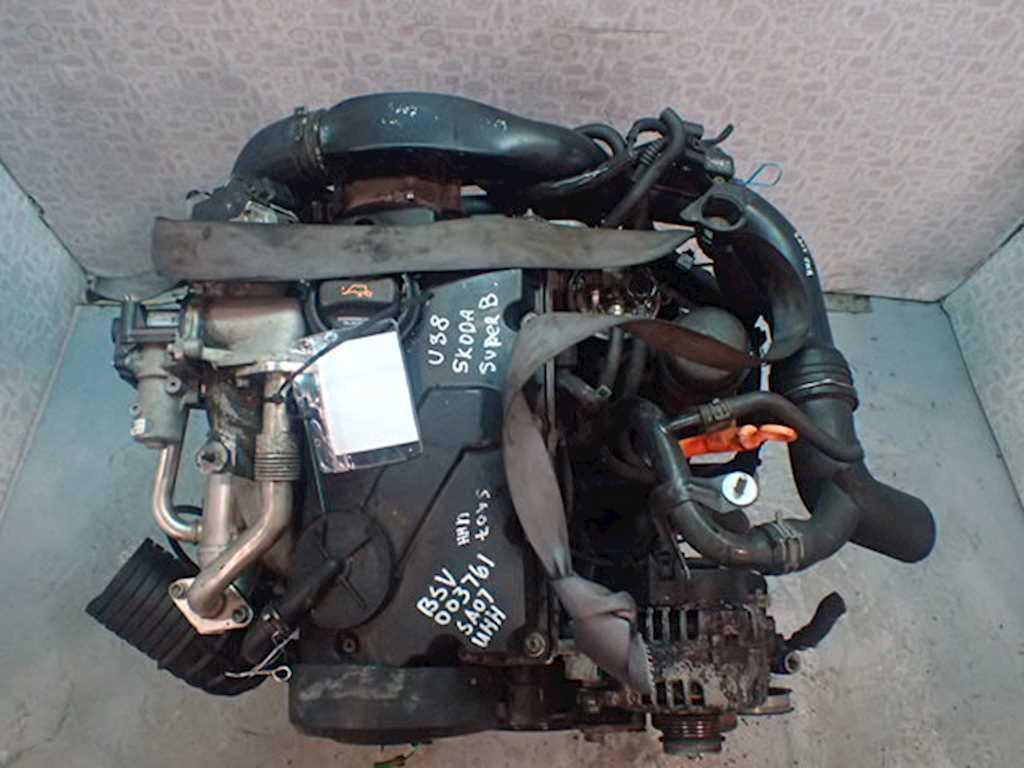 Двигатель (ДВС) Skoda Superb  BSV
