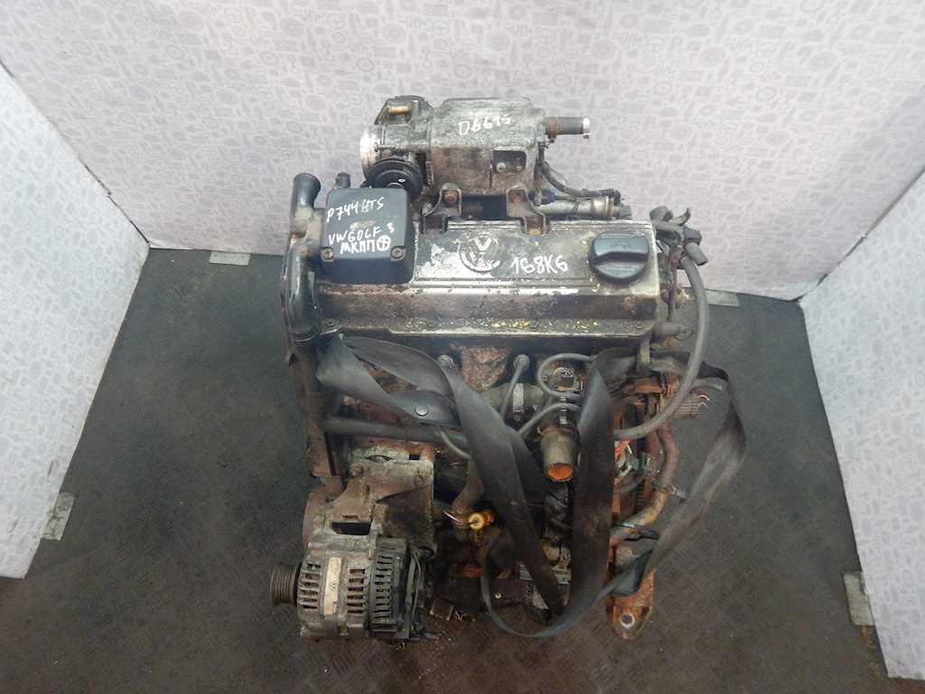 Двигатель (ДВС) Volkswagen Golf 3  AGG
