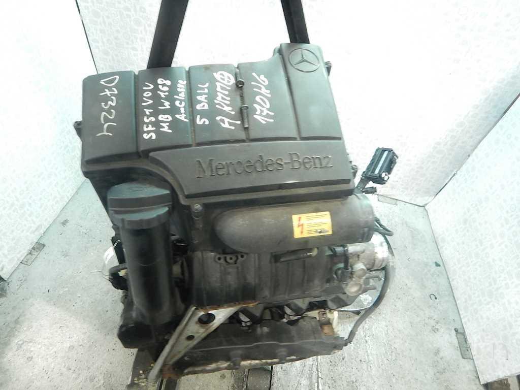 Двигатель (ДВС) Mercedes W168 (A Class)  166.990 не читается