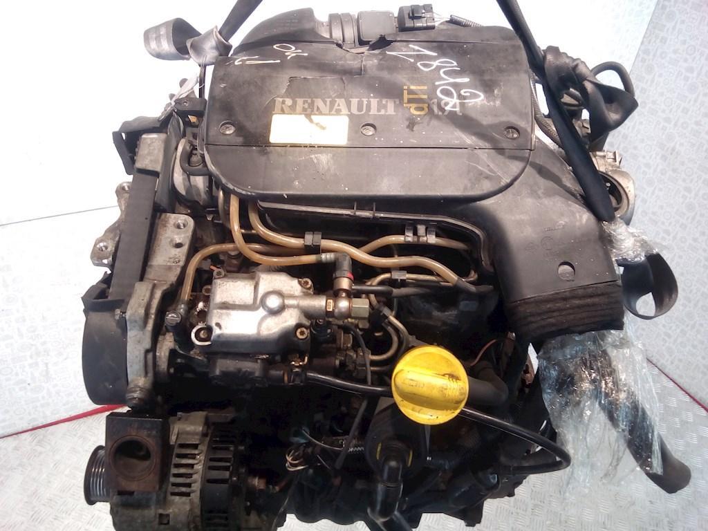 Двигатель (ДВС) Renault Kangoo  F9Q 780(не читается)