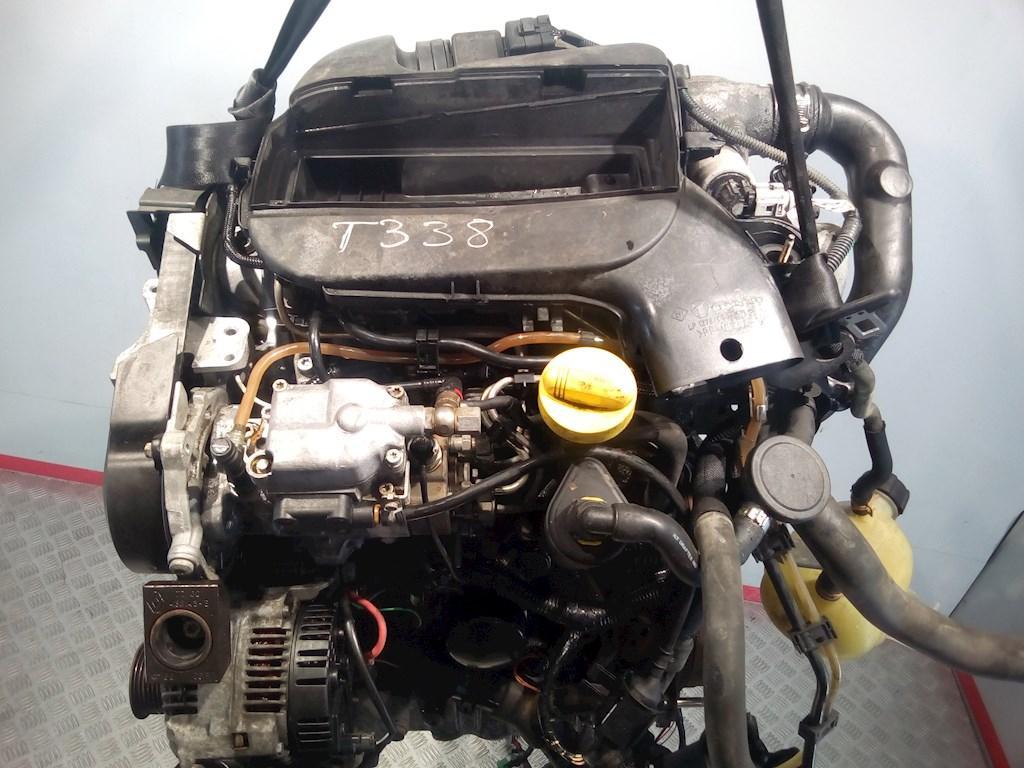 Двигатель (ДВС) Renault Kangoo  F9Q 782 не читается
