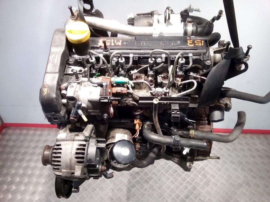 Двигатель (ДВС) Renault Clio 2  K9K 704 не читается