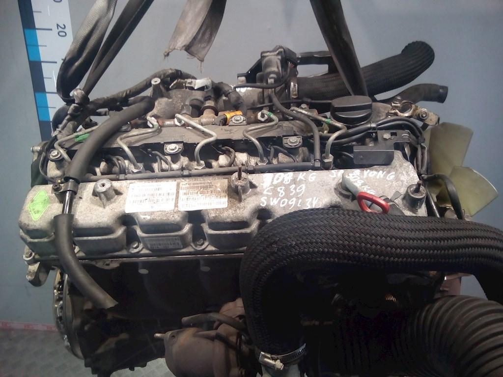 Двигатель (ДВС) SsangYong Rodius  D27DT