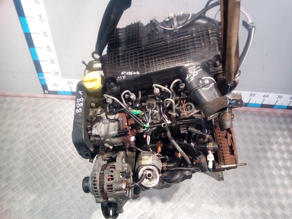Двигатель (ДВС) Renault Clio 2  K9K 700/704 не читается