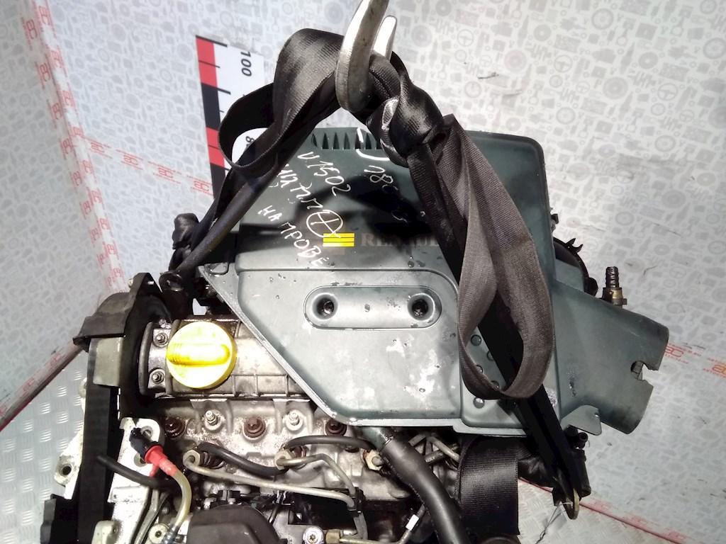 Двигатель (ДВС) Renault Kangoo  F9Q630 не читается