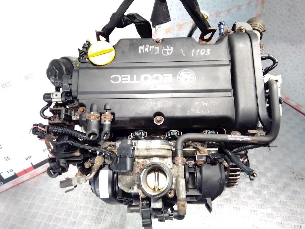 Двигатель (ДВС) Opel Meriva A  Z14XEP