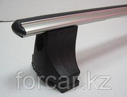 Багажник Atlant для гладкой крыши с креплением за дверной проем, аэродинамические  дуги, опора B