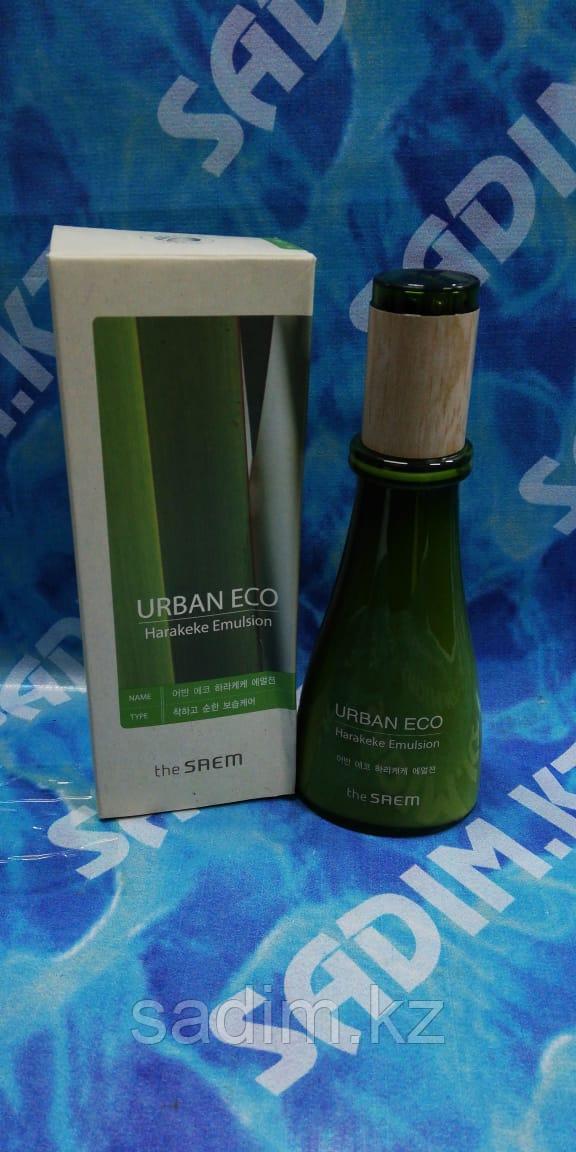 The Saem Urban Eco Harakeke Emulsion  - Эмульсия для лица увлажняющая с экстрактом новозеландского льна