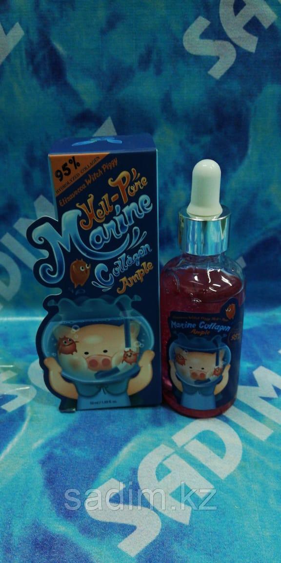 Elizavecca Hell-Pore Marine Collagen Ample 95% - Сыворотка с морским коллагеном