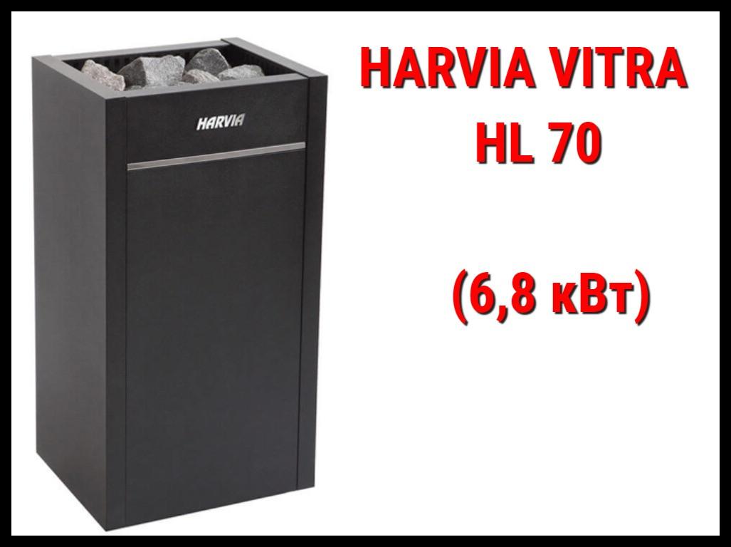 Электрическая печь Harvia Vitra HL 70 под выносной пульт управления