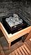 Электрическая печь Harvia Vitra HL 70 под выносной пульт управления, фото 6