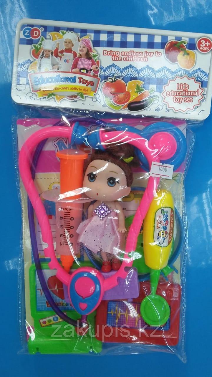 Детский развивающий набор игрушек «Больница»