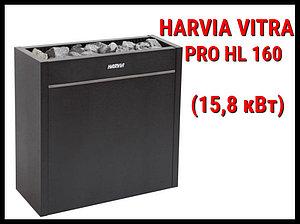 Электрическая печь Harvia Vitra Pro HL 160 под выносной пульт управления