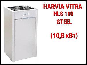 Электрическая печь Harvia Virta HLS 110 Steel под выносной пульт управления