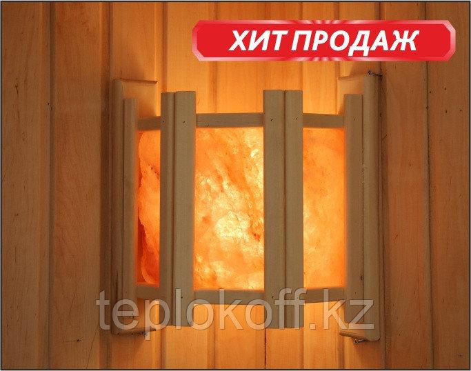 Абажур угловой с гималайской солью, 3 плитки (АУС-3П), 212F, Банный Эксперт