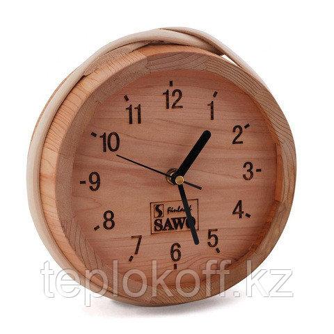 Часы Sawo 531-D в предбанник, бочонок 320*40 мм, кедр