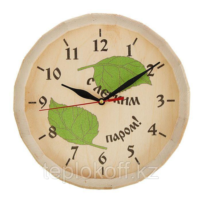 Часы банные бочонок С легким паром липа Добропаровъ