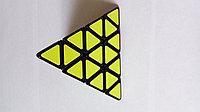 Кубик пирамидка 4х4 Шенгшоу с черными гранями