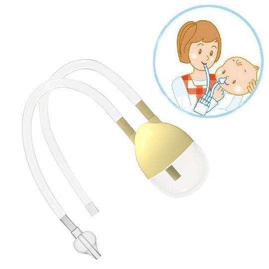 """Аспиратор назальный детский вакуум (для носа, """"соплеотсос"""") в упаковке."""