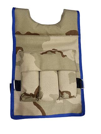 Жилет утяжелитель Reebok Crossfit для физических нагрузок 10 кг, фото 2