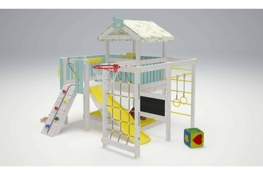 Игровой комплекс-кровать Савушка Baby-8