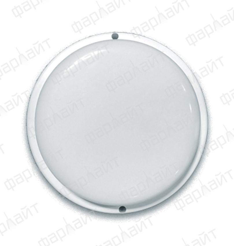 Светильник сд герм СПП 12Вт 230В 6500К 960Лм КРУГ IP65 Фарлайт