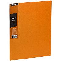 """Папка с 30 вкладышами Berlingo """"Color Zone"""", 17мм, 600мкм, оранжевая AVp_30616, фото 1"""