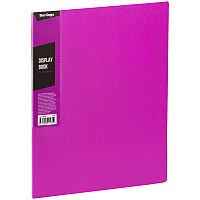"""Папка с 30 вкладышами Berlingo """"Color Zone"""", 17мм, 600мкм, розовая AVp_30613"""