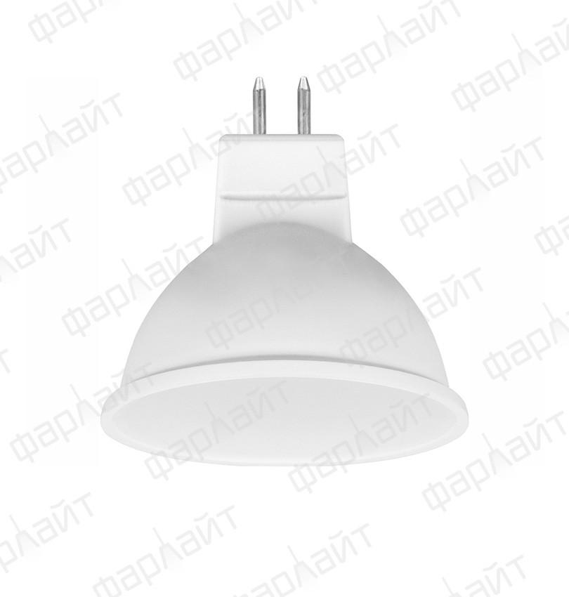 Лампа светодиодная MR16 7Вт 2700К GU5.3 Фарлайт