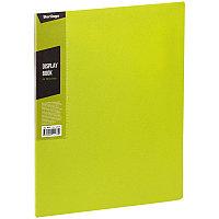 """Папка с 30 вкладышами Berlingo """"Color Zone"""", 17мм, 600мкм, салатовая AVp_30619"""