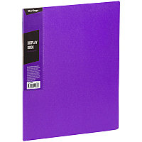 """Папка с 30 вкладышами Berlingo """"Color Zone"""", 17мм, 600мкм, фиолетовая AVp_30607"""